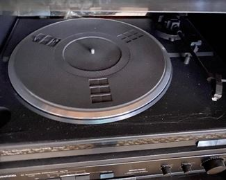 Kenwood turntable with dust cover, model KD45F, $75