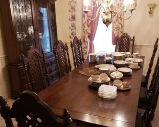 Fabulous Spanish Revival Dining Set