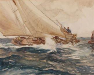 yacht racing Y Ed Soderberg