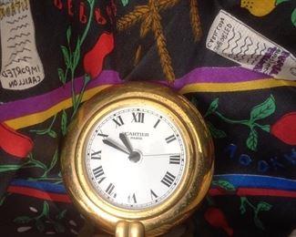 Cartier Desk Clock - - -Nichole Miller
