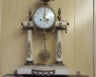 French clock, one of the owner's favories.