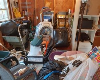 Garage items and more.