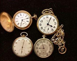 Vintage Pocket Watches.
