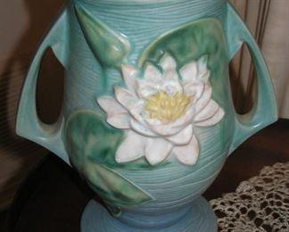 Roseville Pottery Water Lily Vase