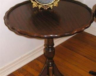 Lamp Table, one of a pair, Mahogany
