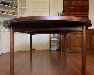 Teak Dining Table with Three Extensions