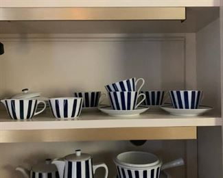 Lyngby, Blue and White China from Denmark