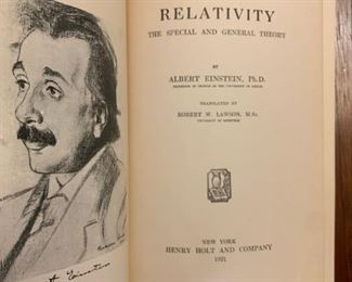 Early Edition of Einstein's Relativity