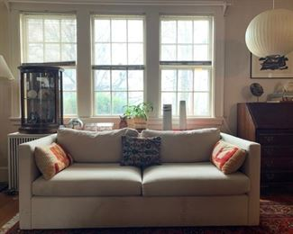 Crate and Barrel Two Seat Sofa