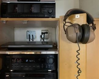 Vintage Stereo Equipment, Featuring Bang & Olufsen Beogram 3300
