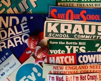 Political Posters and Stickers
