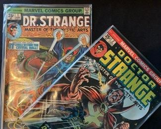 Dr Strange Comic Books