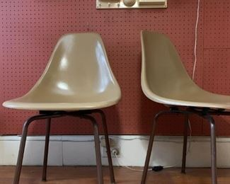 Fiberglass Chairs, PAIR, Dorothee Maurer-Becker All All III