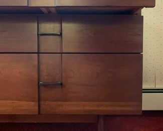 Mid Century Two Piece Bedroom Set