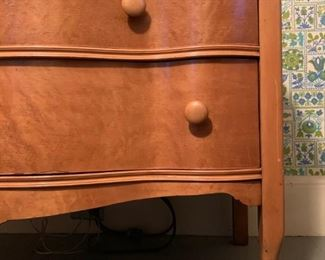 Claw Foot Maple Chest