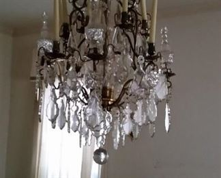 Huge french chandelier