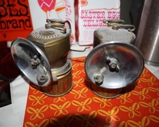 Vintage Miner's Lamp