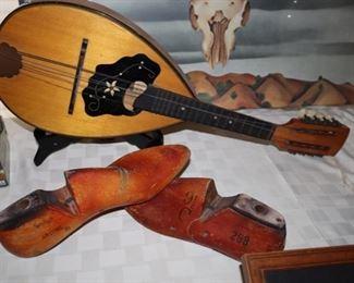 Vintage shoe lasts, Vintage Mandolin