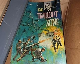 Twilight Zone Comic Book