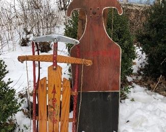 Vintage sleds - several time choose from :)