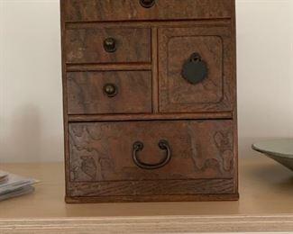 Antique Chinese Desk box