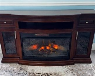 ChimneyFree Infrared Electric Fireplace Entertainment Center