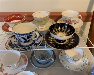 Cup and Saucer collection