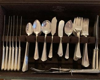 Gorham Sterling Fairfax 81 pcs.