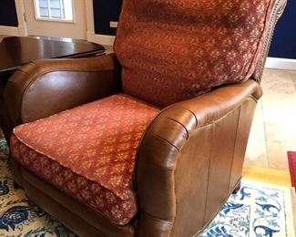 (2) Leather recliners purchased from Toms Price