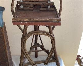 Antique Twig Stand