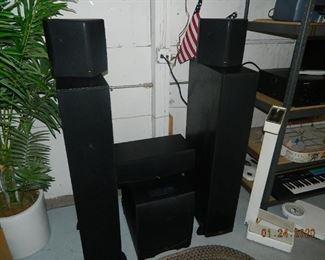 Klipsch speaker set