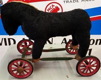 Antique Child's Riding Horse