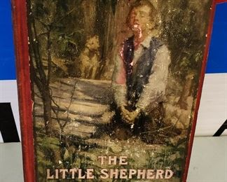 "Antique/Vintage Book- ""The Little Shepherd of Kingdom Come"""
