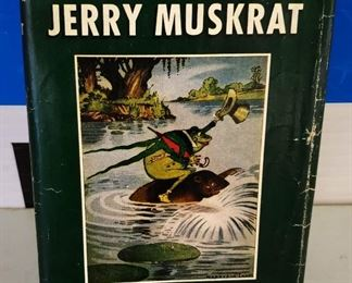 "Antique/Vintage Book- ""The Adventures of Jerry Muskrat"""