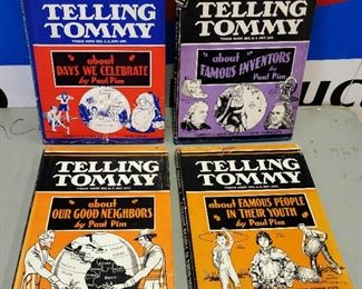 "Antique/Vintage Books- ""Telling Tommy"" Collection"