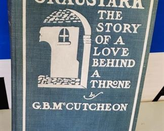 "Antique/Vintage Book- ""Graustark, The Story of a Love Behind a Throne"""