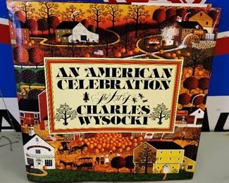 "Antique/Vintage Book- ""An American Celebration- The Art of Charles Wysocki"""