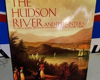 "Antique/Vintage Book- ""The Hudson River and its Painters"""