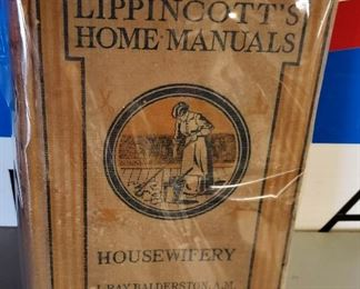 "Antique Book- ""Lippincott's Home Manuals, Housewifery"""