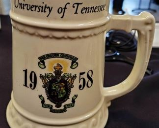 1958 University of Tennessee Stein