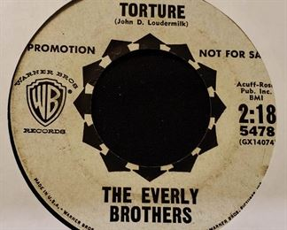 Vintage 45 Record- The Everly Brothers (Promotional Single)