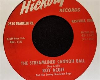 Vintage 45 Record- Roy Acuff