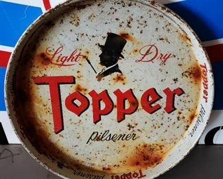 Vintage Topper Beer Tray