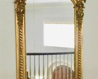 """80. Antique Giltwood Mirror c.1850-70 (33"""" x 78"""")"""