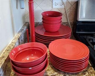 Red Kitchenware