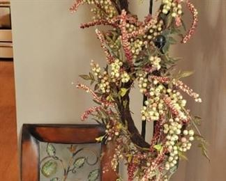 Wreaths with stands