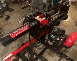 Troy-Bilt 27 Ton Log Splitter