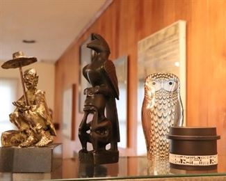 Interesting Decorative Items and Sculptural Pieces