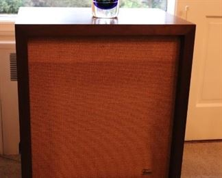 Frazier Speakers and Glass Decorative