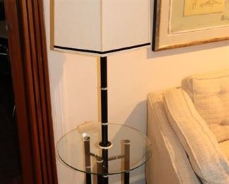 Contemporary Floor Lamp / Table